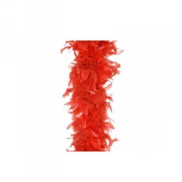 Federboa rot, 180cm, 1 St