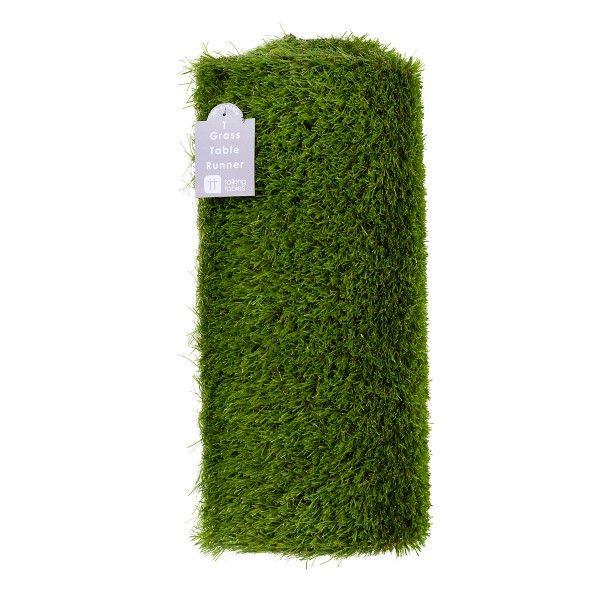 Tischläufer Gras, 150x40cm