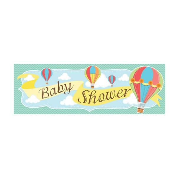 Riesenbanner-Babyshower-Heissluftballon-50x152cm