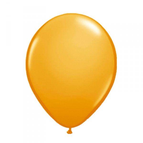 Luftballons orange, 10 Stück