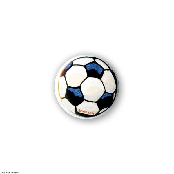 Button Fußball, ø 2,5cm