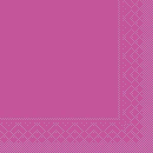 Servietten Violett, 33cm, 20 Stück