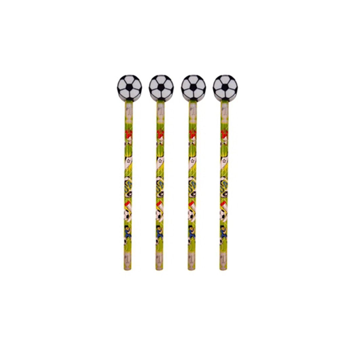 Bleistift Fussball Mit Radierer 1 Stuck