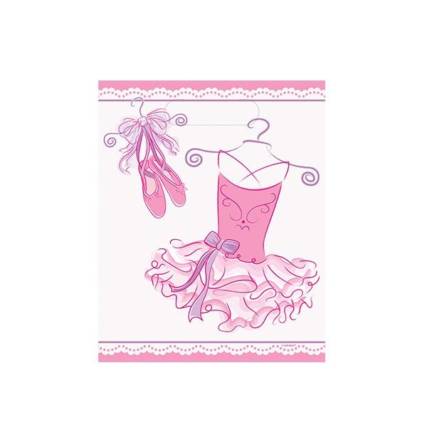 T1141995-Partytueten-Ballerina-8-Stueck