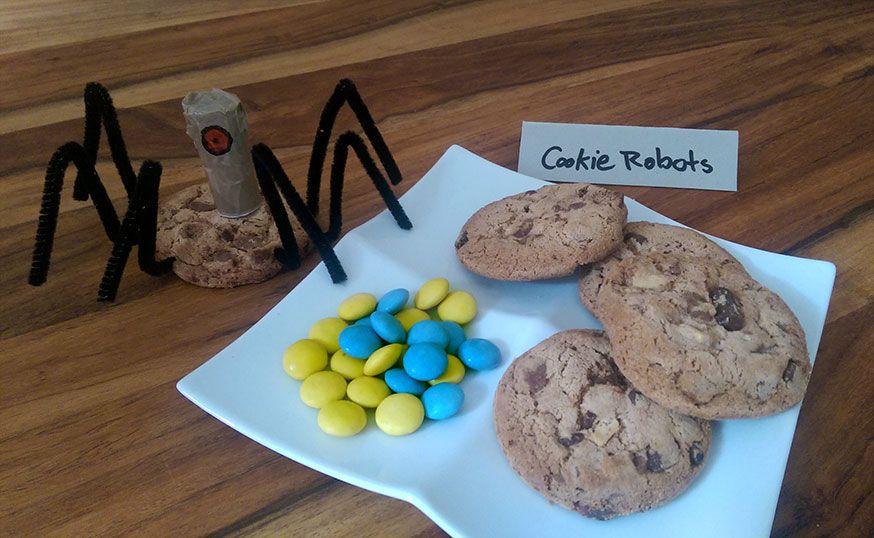 Einfache Kekse werden ruck, zuck zu Cookie Robots. Bekannt aus Ich einfach unverbesserlich.
