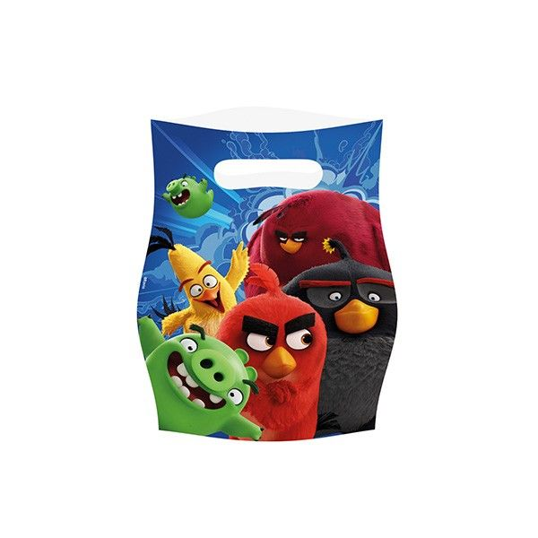 T1142205-Partytueten-Angry-Birds-8-Stueck