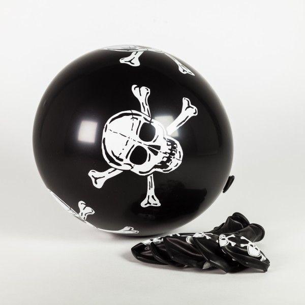 Luftballons Pirat