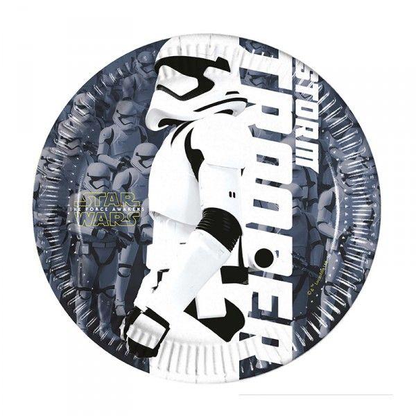 Pappteller Star Wars, ø 19,5 cm, 8 Stück