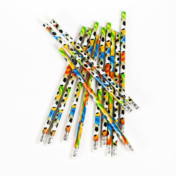 Bleistifte Fußball, 12 Stück