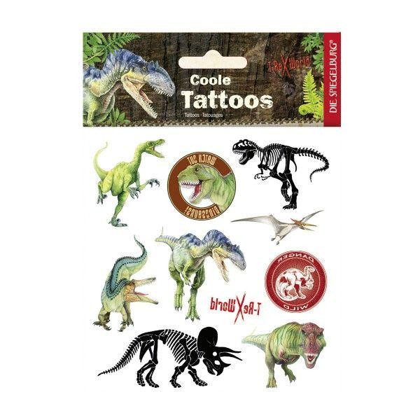 T-Rex World Tattoos, ca. 11,5x16cm