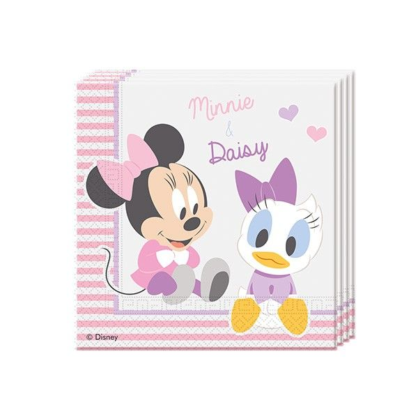 T1142413-Servietten-Disney-Baby-Minnie-33cm-20-Stueck