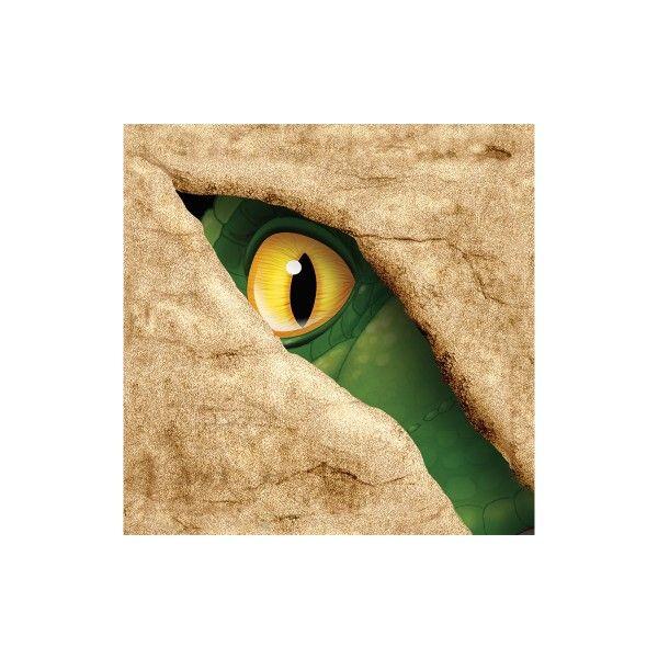 Servietten Dino, 25 cm, 16 St