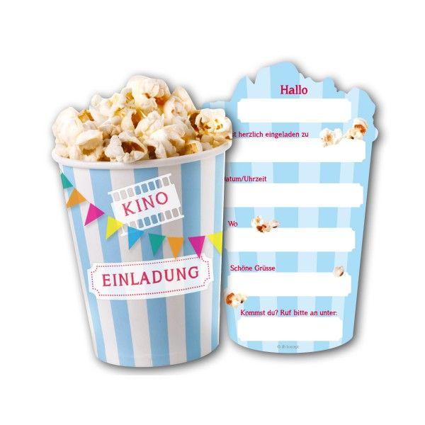 Einladungskarten Kino