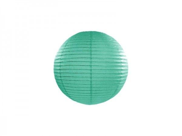 Papier-Laterne, Lampion petrol, Ø 25 cm