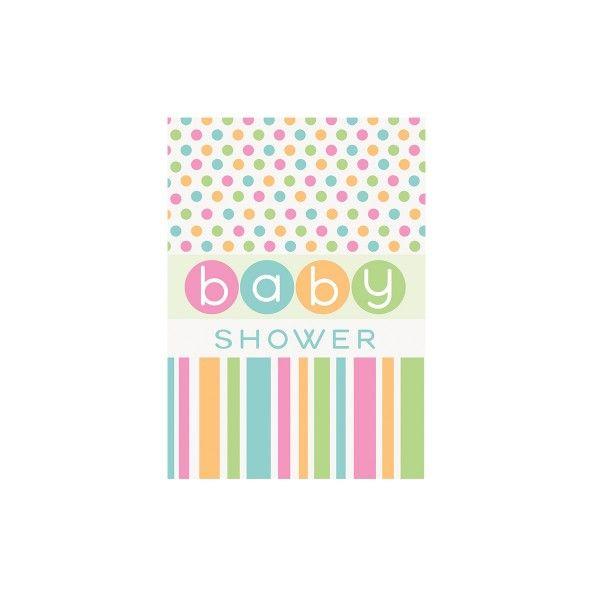 T1142009-Einladungskarten-Babyshower-bunt-8-Stueck
