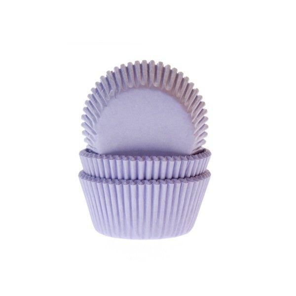 Muffinförmchen, lila, 50 Stück