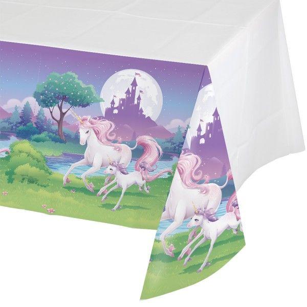 Einhorn Tischdecke, 137x259cm