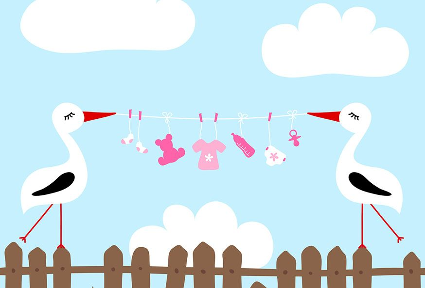 Zur Babyshower gehören lustige Spiele rund ums Baby. • Foto: Jan Engel / Fotolia.com