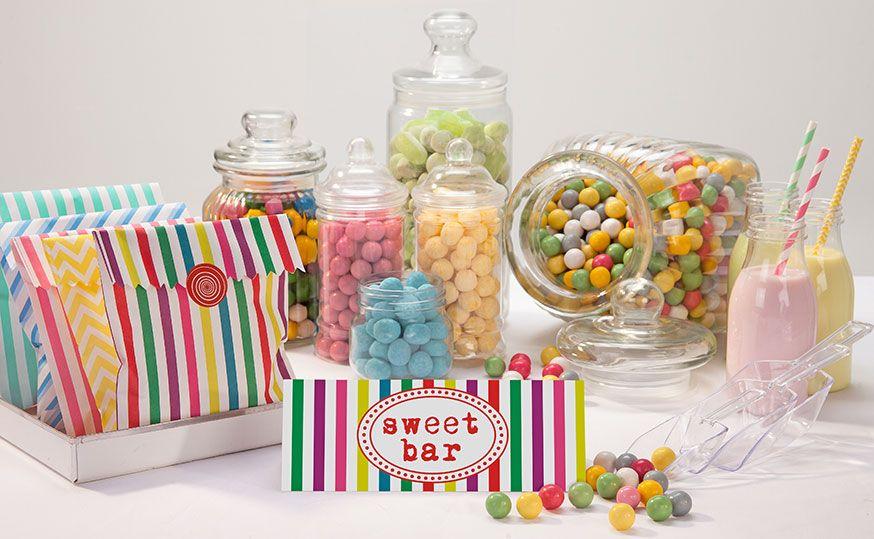 Wie wäre es zur Faschingsfeier mit einem Sweet Table in Kunterbunt?