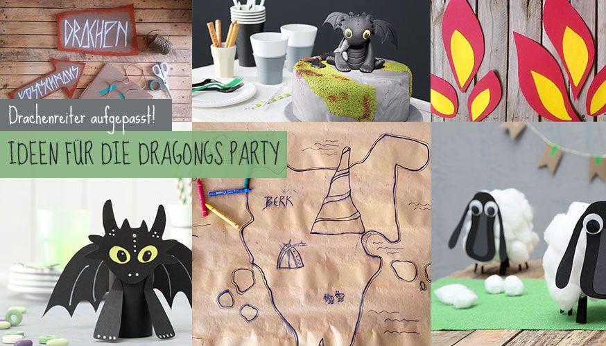 Mit diesen Tipps für die Dragons Party begeistern Sie kleine Drachenfans!