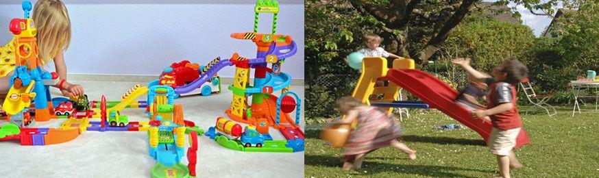 Fotos: ©Marisa Hart - VTech Tut Tut Baby Flitzer im Test / iStock - Spielgeräte für den Garten