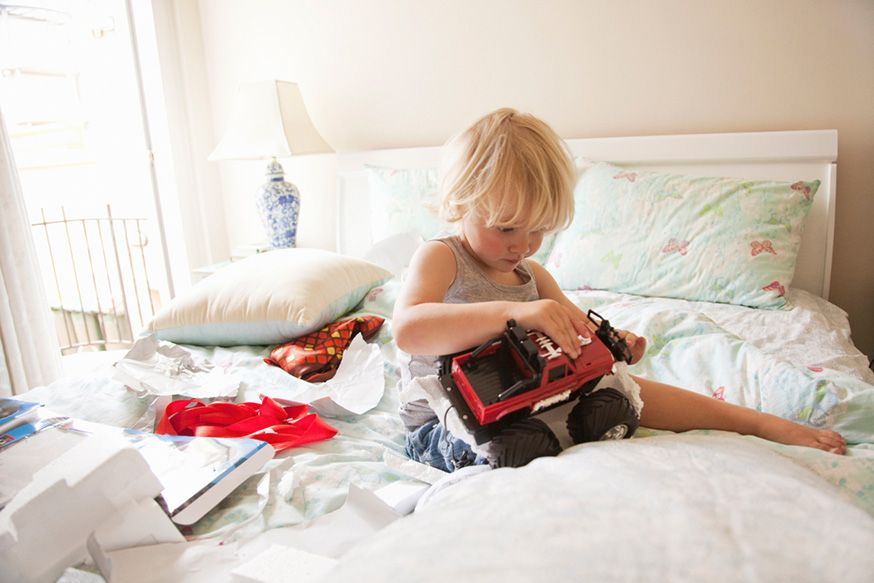 Aufwachen umgeben von Geschenken: ein Traum! • Foto: Kent Mathews / Getty Images