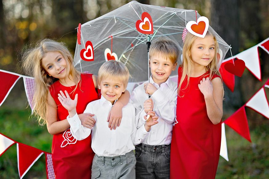 Ein Kindergeburtstag am Valentinstag? Kein Problem! • Foto: zagorodnaya / Fotolia.com