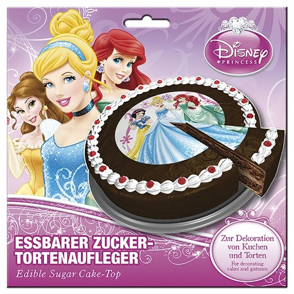 Disney Prinzessinnen Tortenaufleger - Ø 16cm