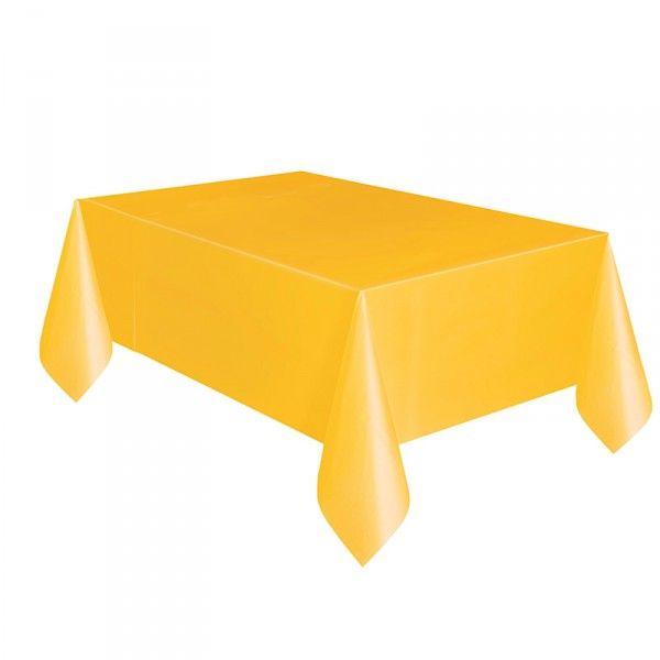 Tischdecke gelb, 137x274cm