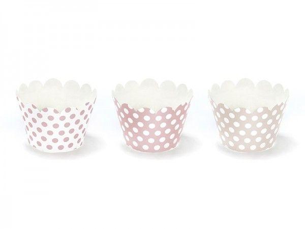 Deko-Banderolen für Muffins und Cupcakes Sweets, 6 Stück