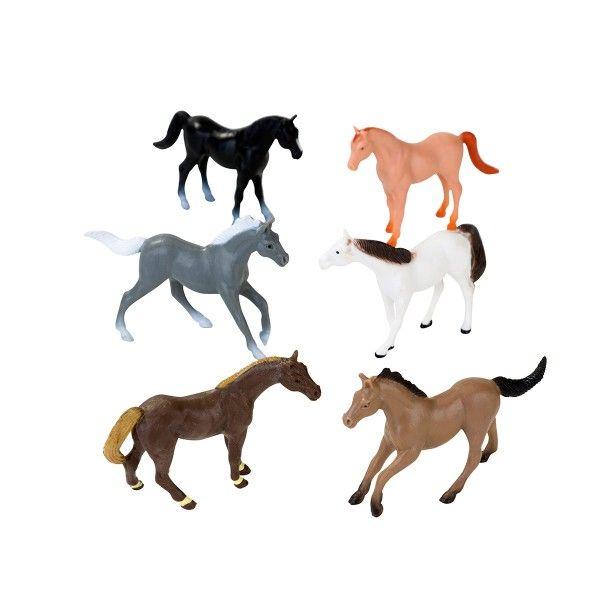 Kleine Pferde, 12 Stück X X