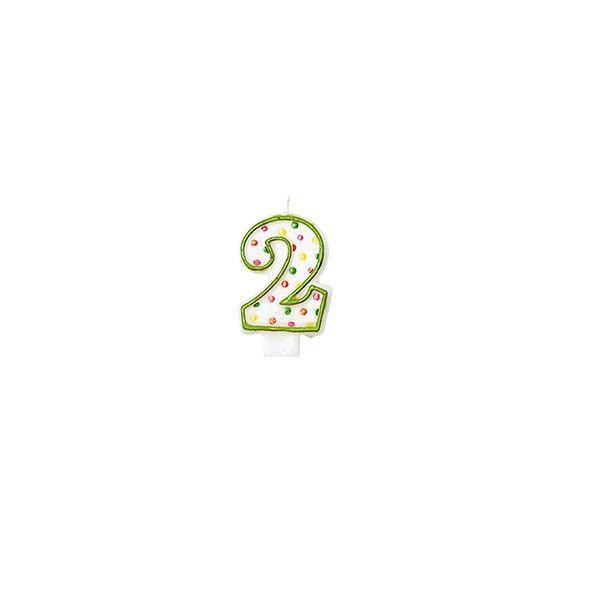 Zahlenkerze 2