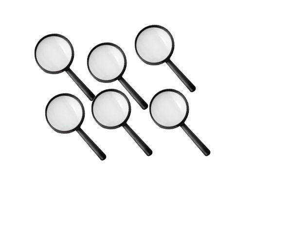 Mini Detektiv-Lupen, 6 Stück
