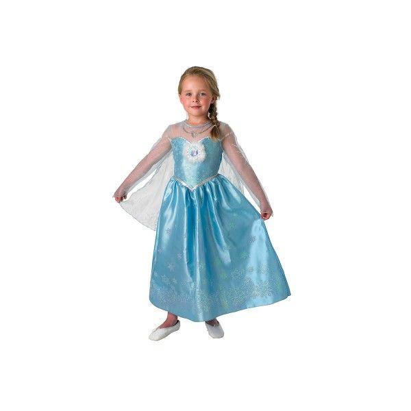 Kostüm Eiskönigin Elsa, Gr. L ( 7-9 Jahre)