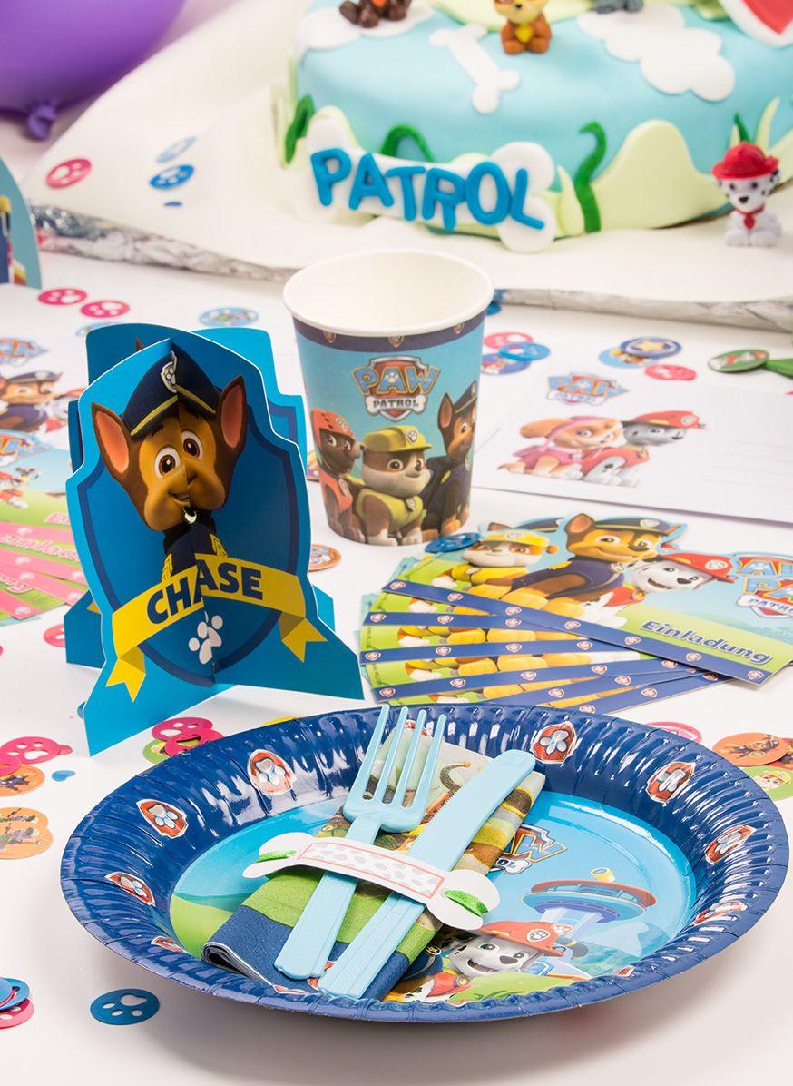 paw patrol einladungskarten zum ausdrucken