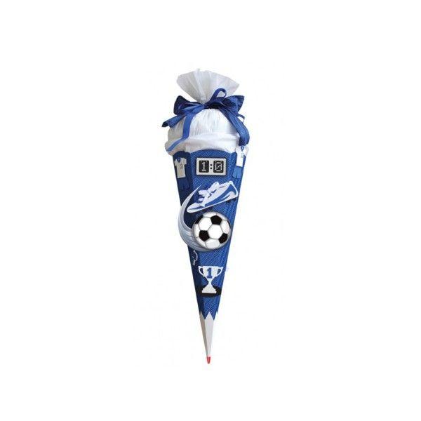 T1142741-Schultueten-Bastelset-Soccer-blau-68-cm