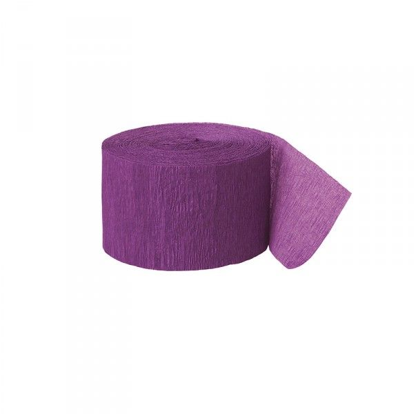 Kreppband dunkellila/purple