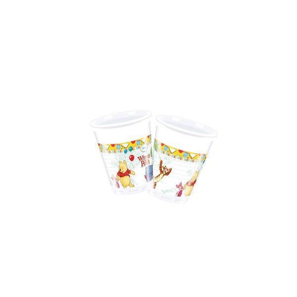 Plastikbecher-Winnie-Pooh-8-Stueck