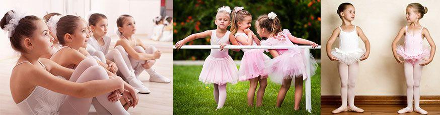 Tanzspiele sind genau das Richtige auf dem Ballerina-Geburtstag. • Fotos: johoo, fotoskaz, Carlush / fotolia.de