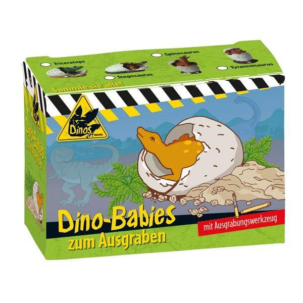 Dino Babies zum Ausgraben,  verschiedene Ausführungen, 1 Stück