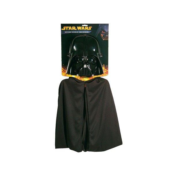 Maske/Umhang Darth Vader