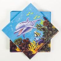 Servietten Unterwasserwelt