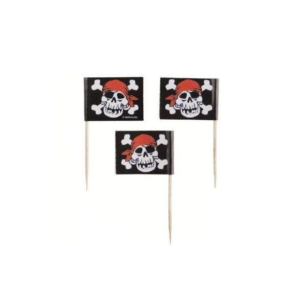 Partypicker Pirat, 30 Stück
