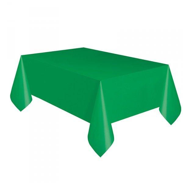 Tischdecke grün, 137x274cm