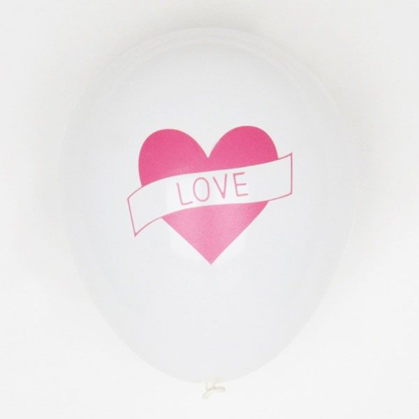 Luftballoons-love-30cm-5-Stueck-neu