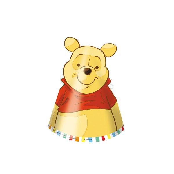 Partyhuete-Winnie-Pooh-6-Stueck