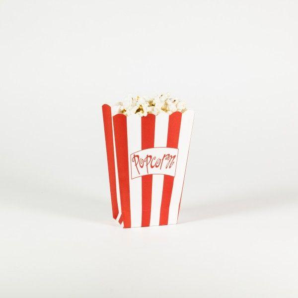 Popcorntüten, 9,5x13,3x5cm, 8 Stück