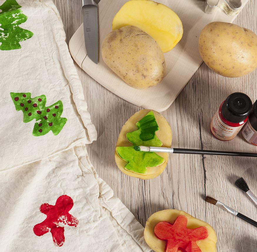 Stoffdruck-mit-Kartoffeln