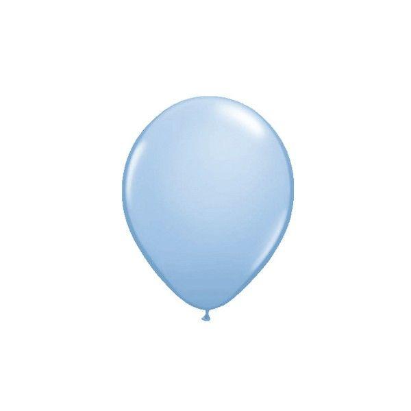 Luftballons, Hellblau, 10 Stück