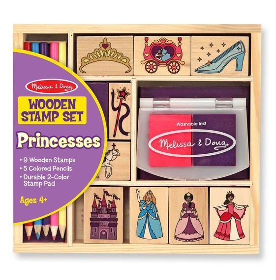 Stempel Set Prinzessin
